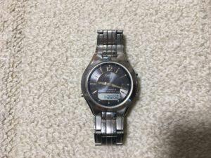 実物の時計の写真